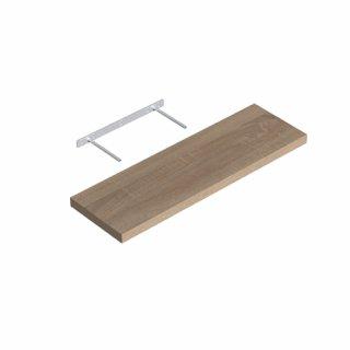 Półka samowisząca dąb sonoma 79,5x23,5cm VELANO