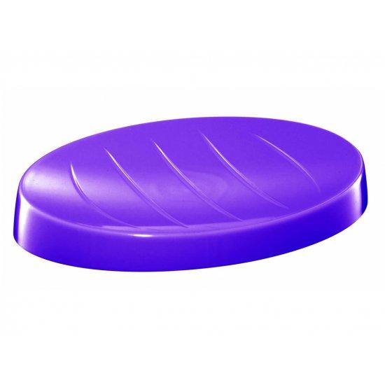Mydelniczka łazienkowa fioletowa BISK