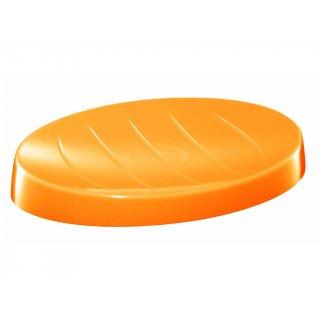 Mydelniczka łazienkowa pomarańczowa BISK