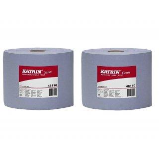 Ręcznik papierowy niebieski 500 listków 380 m KATRIN