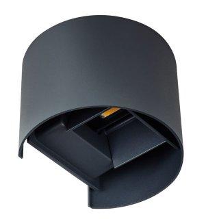 Lampa oprawa elewacyjna Reka LED 7 W owalna KANLUX