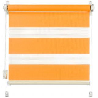Roleta 105x140 Zebra II pomarańcz DECODESIGN