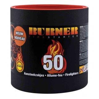 Rozpałka burner tuba 50 szt PARKANEX