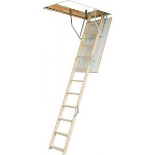 Schody strychowe OptiStep OLE-B PSB 60x94 cm klapa biała