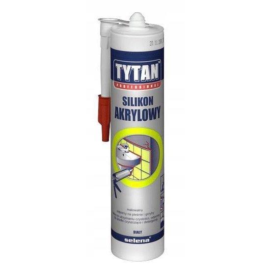 Silikon akrylowy biały 310 ml TYTAN