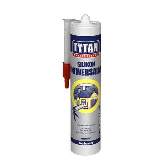 Silikon uniwersalny idealny uszczelniacz biały 310 ml TYTAN