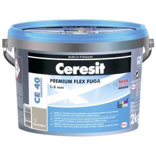 Fuga elastyczna Ceresit CE40 szara 2 kg HENKEL