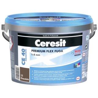 Fuga elastyczna Ceresit CE40 chocolate 2kg HENKEL