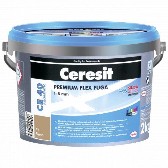 Fuga elastyczna Ceresit CE40 siena 2kg HENKEL
