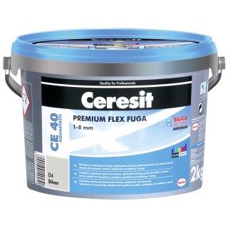 Fuga elastyczna Ceresit CE 40 srebrna 2kg HENKEL