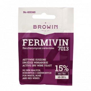 Drożdże winiarskie do win białych i czerwonych Fermivin BROWIN
