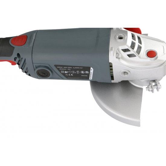 Szlifierka kątowa 2400 W tarcza 230x22,2 mm GRAPHITE