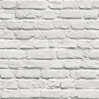 Tapeta papierowa biała cegła 10 mb POLAMI