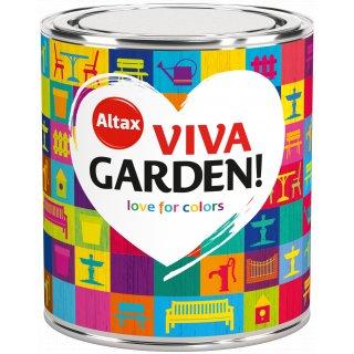 Farba ogrodowa Viva Garden 0,75 L Słonecznikowy Ogród ALTAX