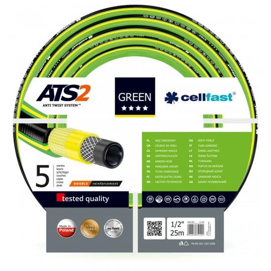 Wąż ogrodowy 1/2, 25 mb Green Ats CELL-FAST