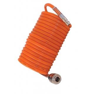 Przewód do sprężonego powietrza spiralny 10 m standard DEDRA