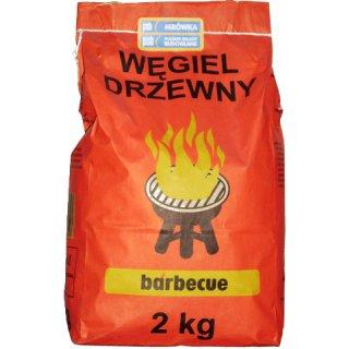 Węgiel drzewny do grilla 2 kg