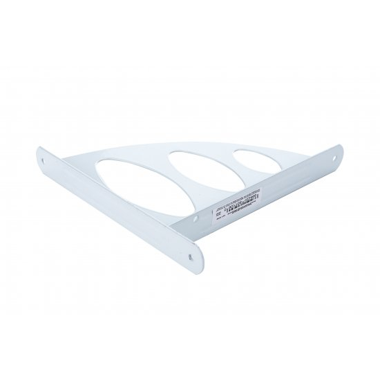 Wspornik półki ażurowy 19x20 cm biały VELANO
