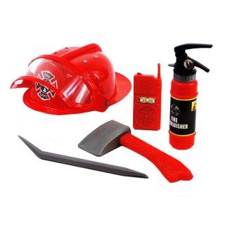 Zestaw Strażak 6 elementów zabawki