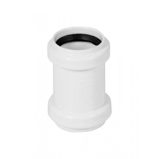 Złączka nasuwna PP 32 mm biała TYCNER