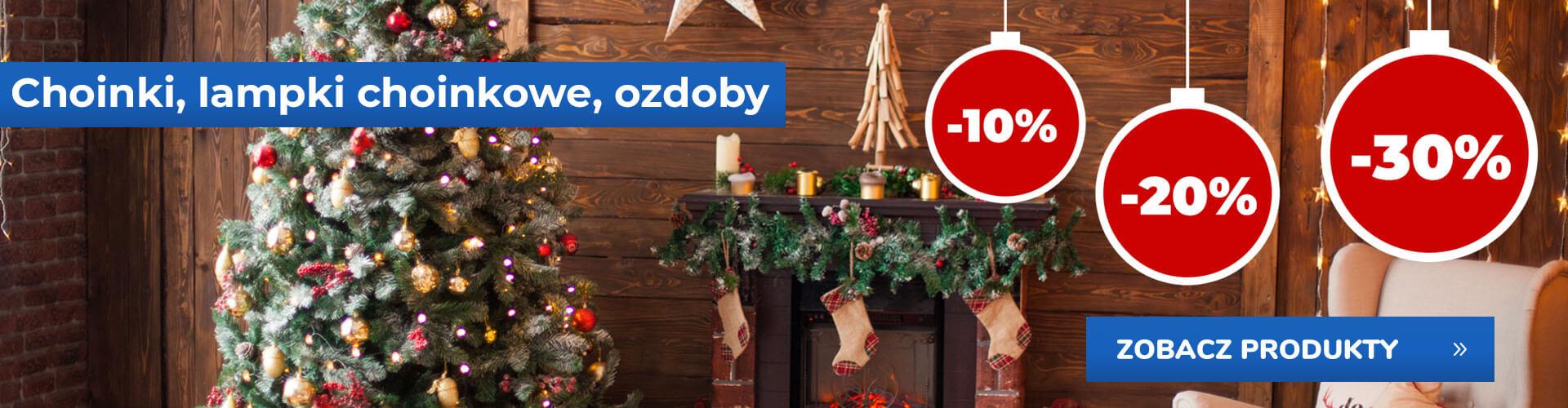 Choinki i dekoracje w sklepie online Mrówka