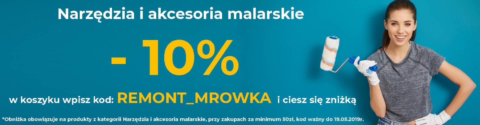 Narzędzia malarskie 10% taniej sklep online Mrówka