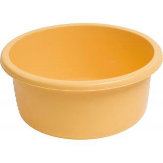 Miska okrągła 26 cm 4 L żółta GALICJA