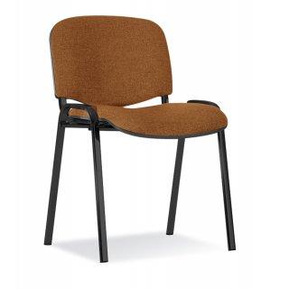 Krzesło biurowe konferencyjne Iso brąz NOWY STYL