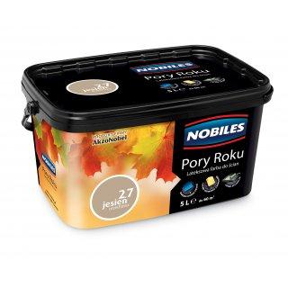 Farba do ścian i sufitów  jesień orzechowa 5L  NOBILES