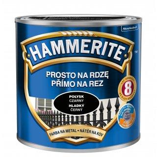 Farba na rdzę połysk czarny 0,25 L Hammerite AKZO