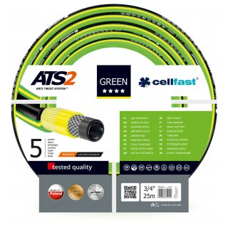 Wąż ogrodowy 3/4, 25 mb Green Ats CELL-FAST