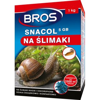 Preparat przeciw ślimakom Snacol 1 kg BROS
