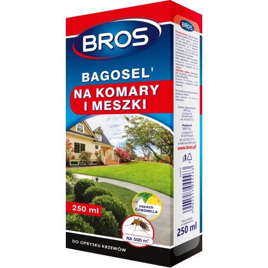 Oprysk na komary i meszki Bagosel 250 ml BROS