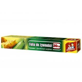 folia do żywn./20m/pudełko z ostrzem/jn