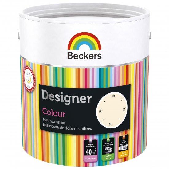 Farba lateksowa Designer 2,5L iris BECKERS TIKKURILA