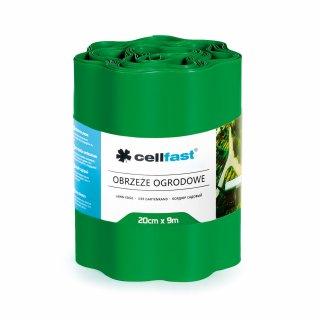 Obrzeża ogrodowe zieleń 20x9cm CELL-FAST