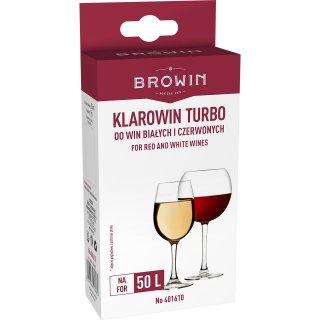 Klarowin Turbo- Profesjonalny zestaw do klarowania BROWIN