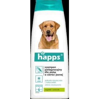 Szampon dla psów o sierści jasnej 200 ml HAPPS
