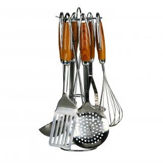Zestaw przyborów kuchennych 7 elementowy GALICJA