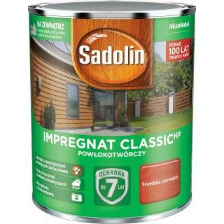 Impregnat Szwedzka czerwień 0,75L Sadolin Classic