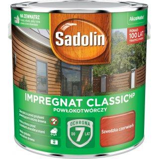Impregnat Szwedzka czerwień 2,5L  Sadolin Classic