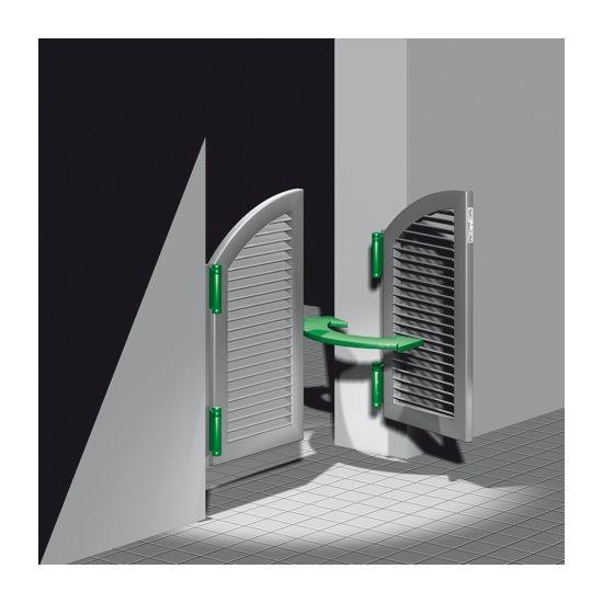 Wahadlo drzwiowe ocynk 75mm GAH ALBERTS