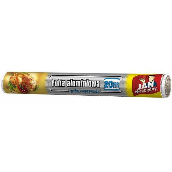 Folia aluminiowa 20 m JAN NIEZBĘDNY