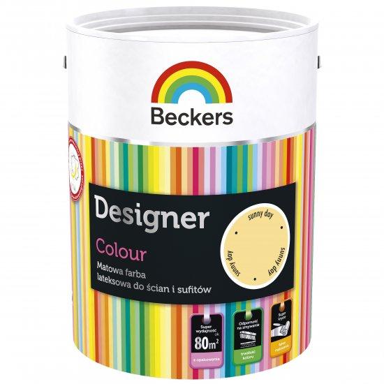 Farba lateksowa Designer 5L sunny day BECKERS TIKKURILA