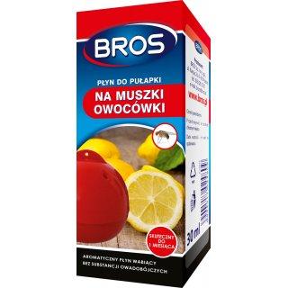 Płyn do pułapki na muszki owocówki 30 ml. BROS