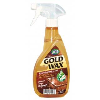Anty kurz do pielęgnacji mebli w sprayu 400 ml GOLD WAX