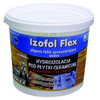Hydroizolacja do płytek Izofol Flex 7 kg IZOLEX
