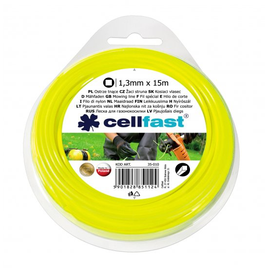 Ostrze tnące - kwadrat 1,3 x 15 CELL-FAST