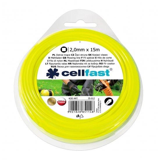 Ostrze tnące - kwadrat 2,0 x 15 CELL-FAST