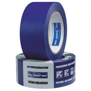Taśma malarska papierowa niebieska 48 mm x 50 m BLUE DOLPHIN
